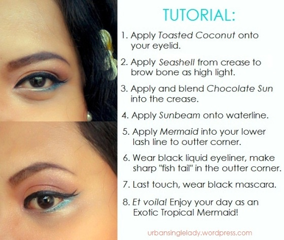 Too Faced Summer Eyes tutorial