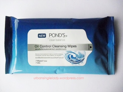 ponds-oil-control-cleansing-wipes
