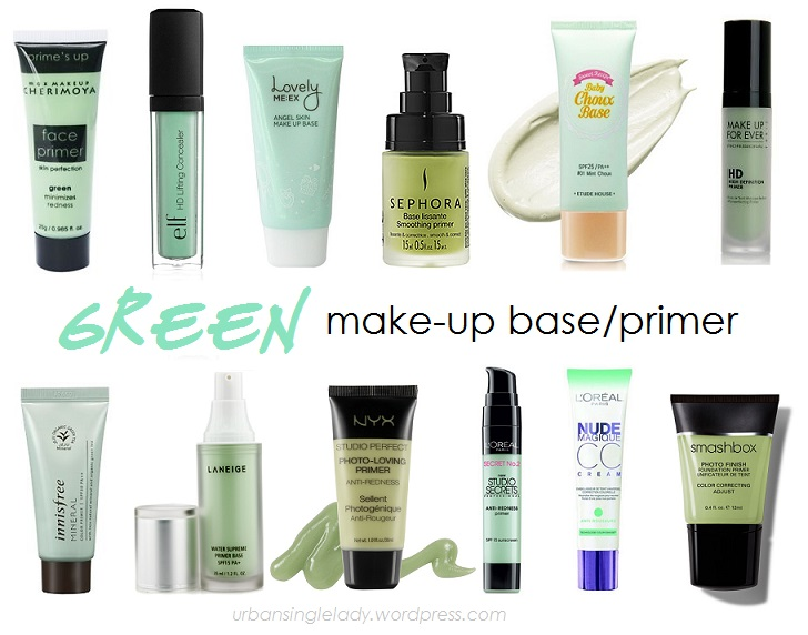 How To Wear Green Make Up Primer Urbansinglelady